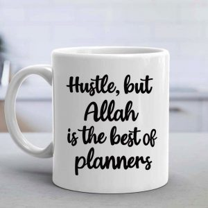 Hustle Mug Round Handle - Black