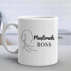 Muslimah Boss Mug Round Handle