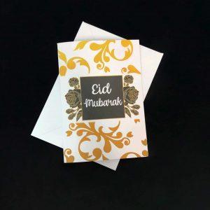 Black Rose Eid Card