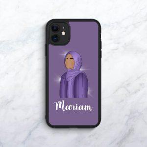 Purple Personalised Phone Case