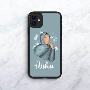 Teal Personalised Phone Case